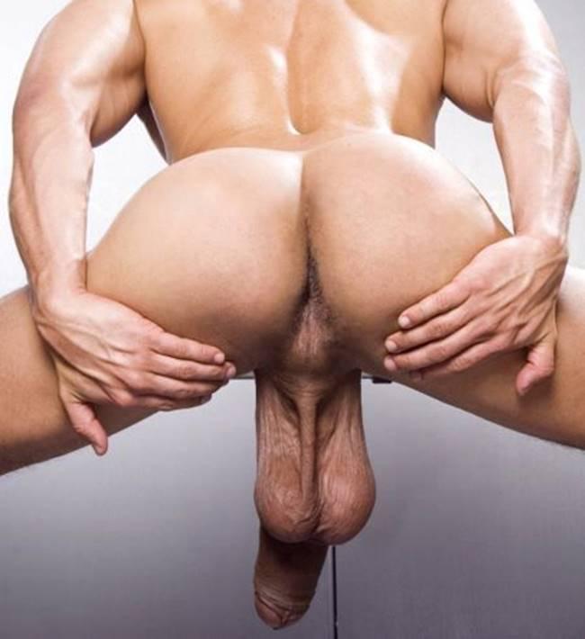 homens mostrando o cu